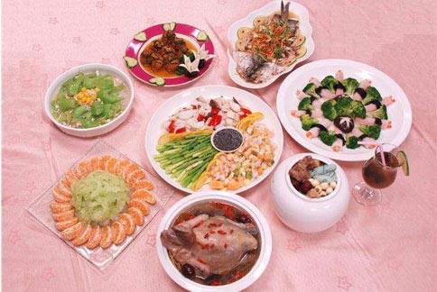 得舒年菜套餐總熱量僅888大卡,讓全家人吃的健康無負擔。(圖片提供/馬偕醫院營養課)