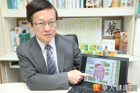 蔡英傑教授指出,小兒防過敏補充多元益生菌,也能改善腸道健康增強免疫力。(攝影/黃志文)