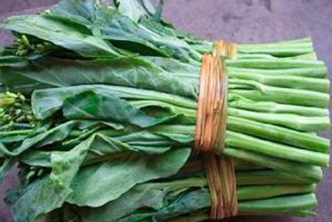 芥藍菜風味佳,不僅能清熱排毒,還能補充鈣質。(圖片/取材自互動百科)