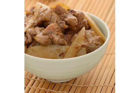 桂花醬燒雞腿肉,口味不過重、薑可改善寒性體質,瘦身也可以吃。(圖片提供/推守文化)
