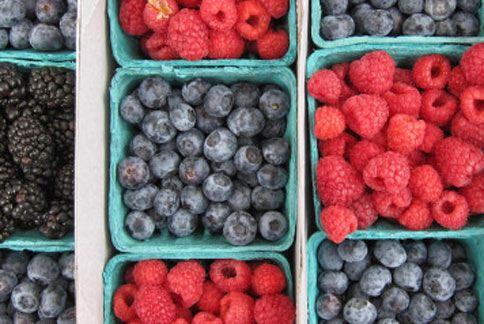 多種不同的莓果都有強大的保健功效,幫助養顏美容、抗老化!(圖片/取材自美國《赫芬頓郵報》)