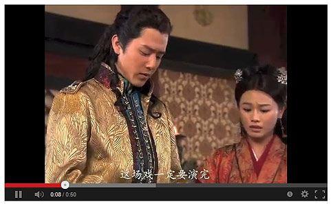 外表俊帥的胡宇威在《蘭陵王》中扮演五爺安德王,風流倜黨,受到不少女性喜愛。(圖片/取材自youtube)