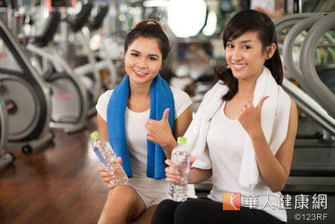 運動是最好的防身武器,不僅可以抗過敏,更可以提高免疫力。