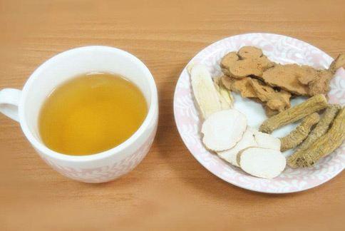 廖婉絨中醫師提供一帖預防經期腹瀉的茶飲干薑理中止瀉茶DIY。(圖片提供/中醫師廖婉絨)