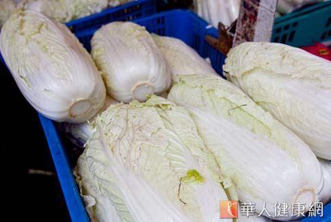 白菜中的鉬,具有預防女性乳腺癌的作用。