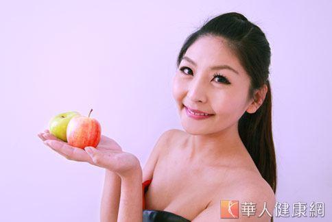 蘋果含有高植化素,能抗氧化對健康有加分效果。(攝影/賴羿舟)