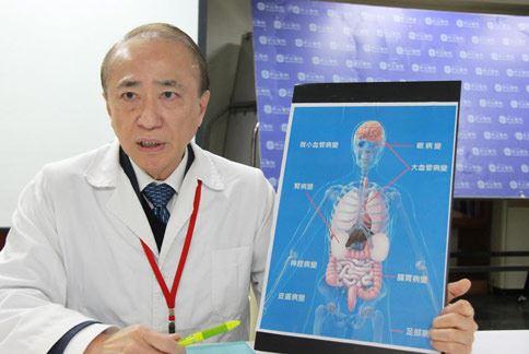 方家浩醫師(如圖)強調,控制血壓與血糖是延緩糖尿病腎病變的最好方法。(圖片提供/台北中山醫院)