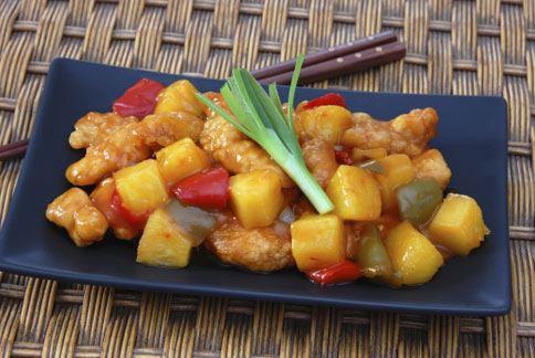 中式料理的糖醋雞丁一份就含有88多公克的糖,超出建議量將近4倍。(圖片/取材自美國《時代》網站)