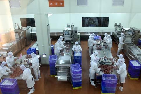 香肠食品工厂设计图