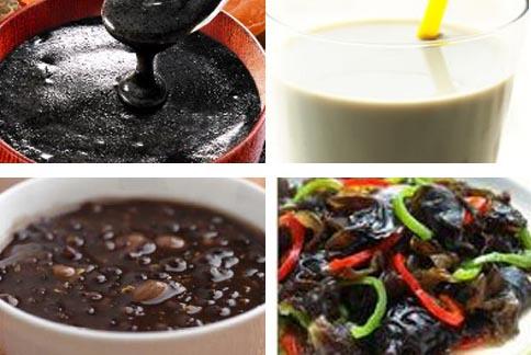 黑色食物所含微量元素和維生素特別多,黑色食材的料理,是冬天進補的熱門選擇。
